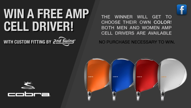 Win The 2013 Cobra AMP Cell Driver!