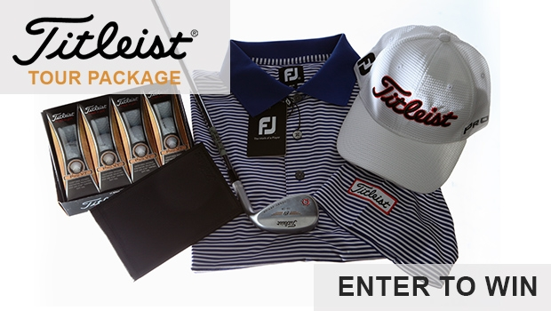 Titleist Tour Package Giveaway Sweepstakes