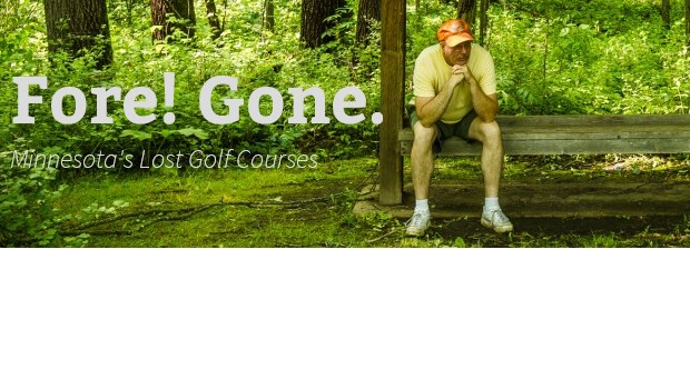 """Fore! Gone."" MN golf author promotes book"