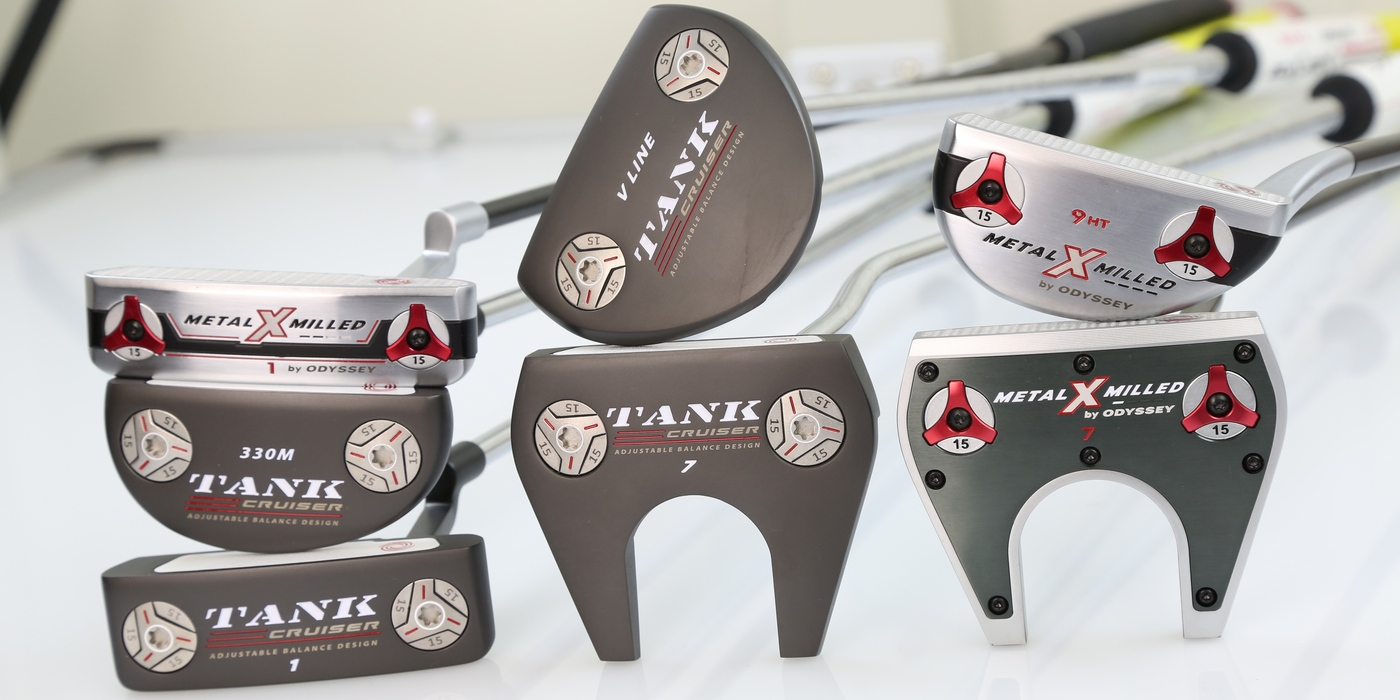 Odyssey Tank Cruiser Putters