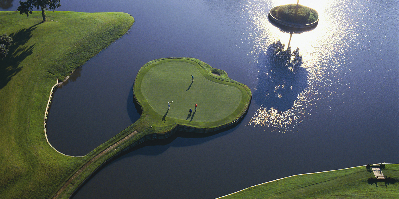 "Play TPC Sawgrass: Home to the ""Fifth Major"""