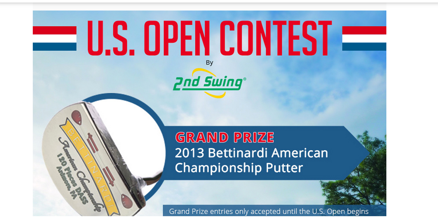 U.S. Open Contest by 2nd Swing