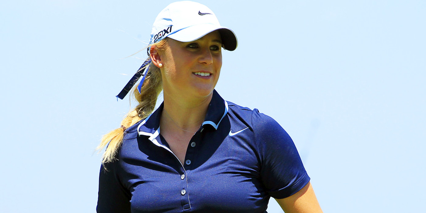 No Regrets: LPGA's Amanda Blumenherst Finds Family, Fulfillment Away from Golf