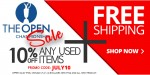 British Open 2nd Swing Online Used Items Sale