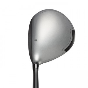The TaylorMade Mini Driver at address.