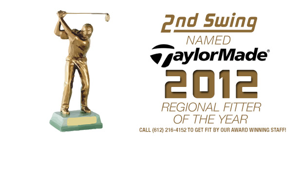 2nd Swing Golf Named TaylorMade Fitter of The Year – Central Region