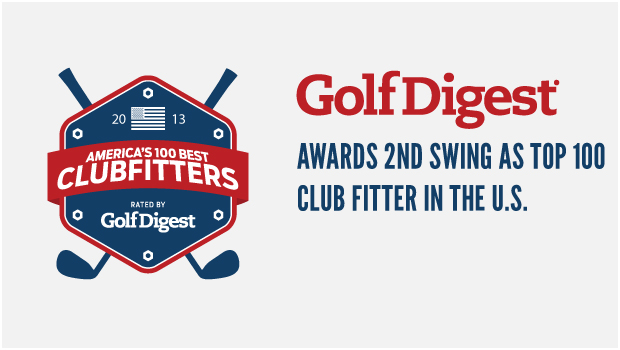 2nd Swing Named as One of America's Best Clubfitters