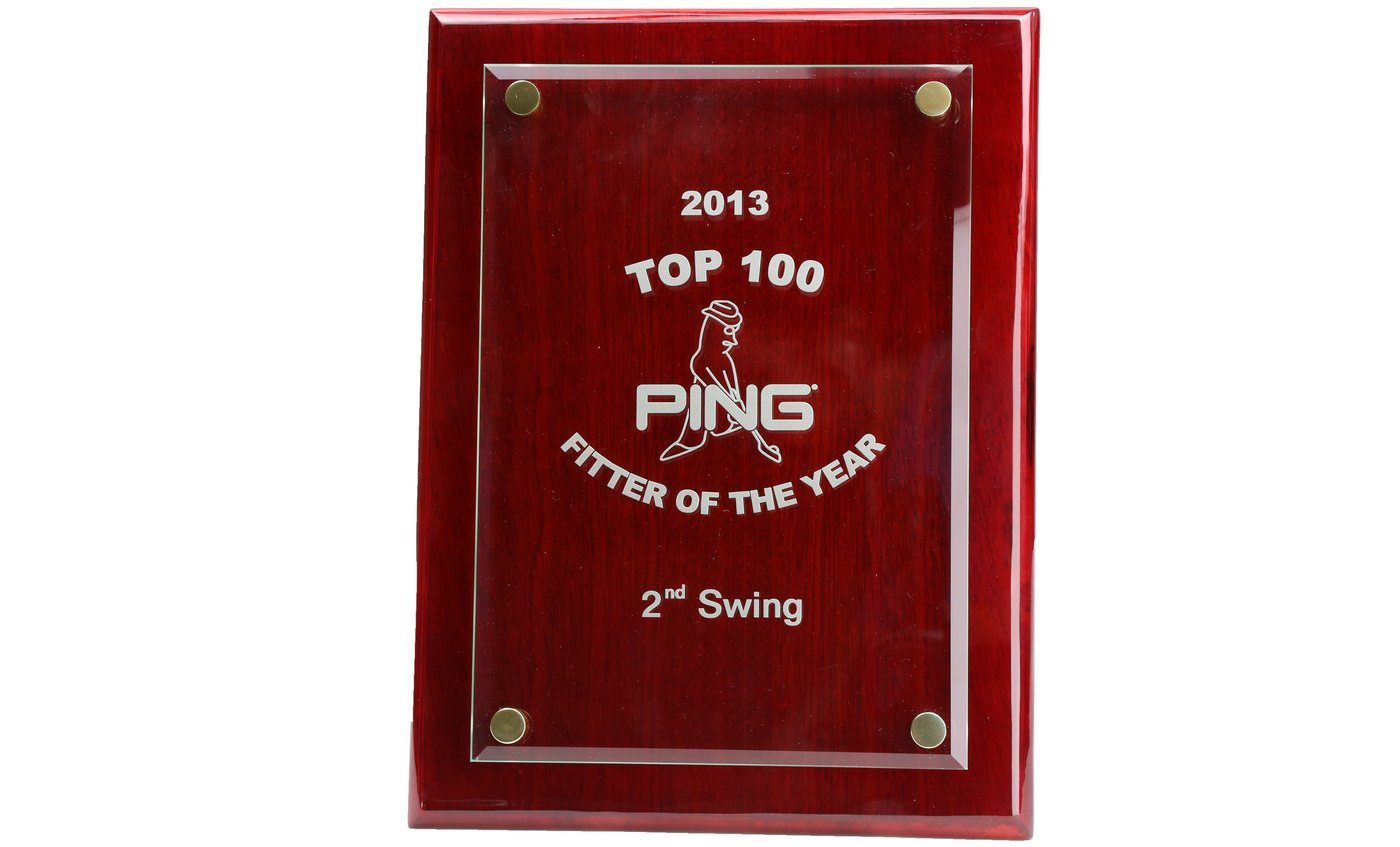 """2nd Swing Golf is 2013 """"PING Fitter of the Year"""""""