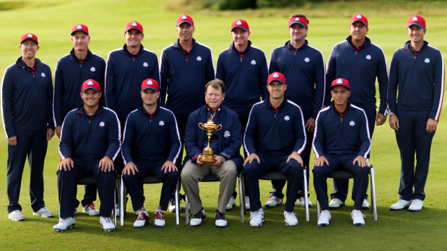 2014 Ryder Cup Report Cards-Team USA