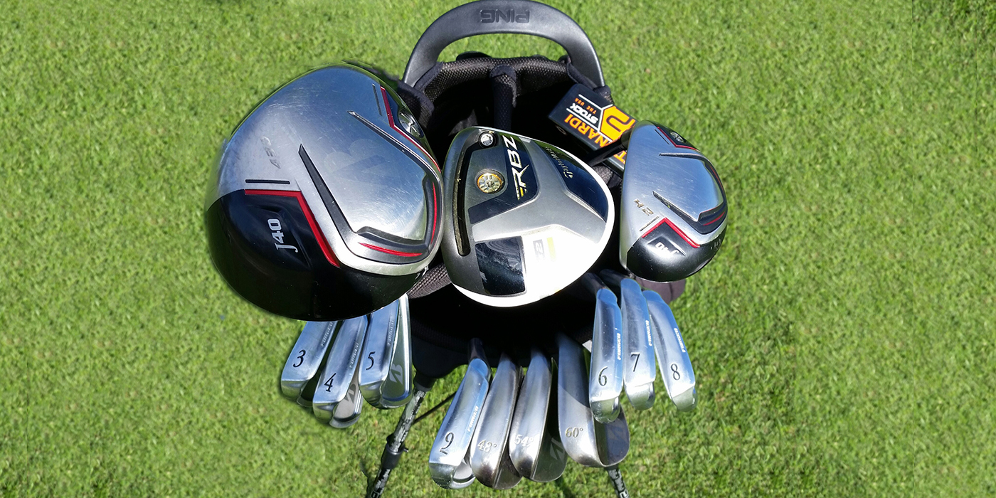 Thomas Campbell Pursues The PGA: What's in The Bag