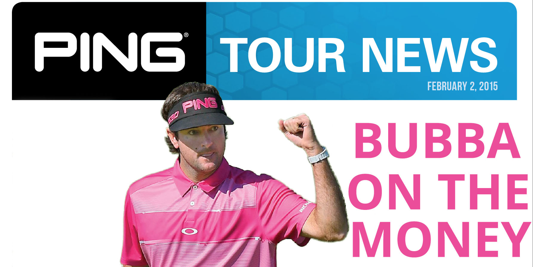 PING Tour News: Week of February 2, 2015